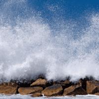 Un rompeolas de hace 7.000 años no pudo afrontar el aumento del nivel del mar