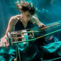 Experimentos de arte acústico en inmersión