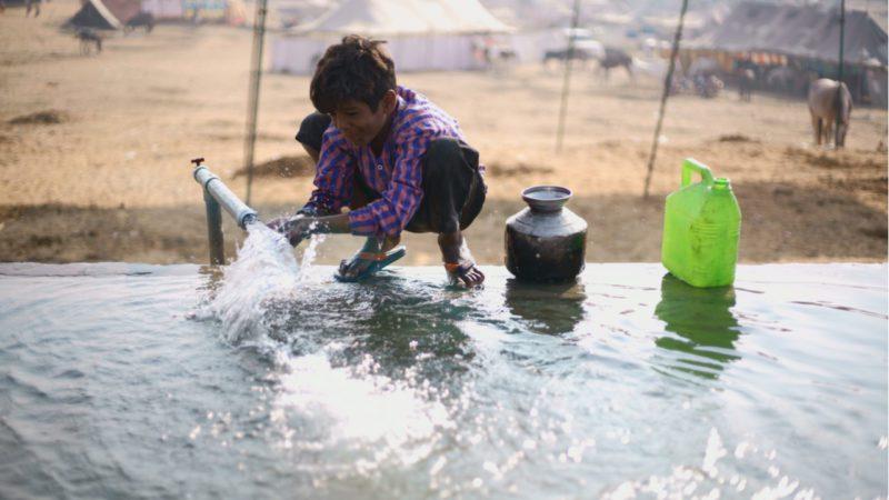 Los problemas de agua se podrían solucionar invirtiendo un 1% del PIB mundial