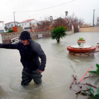 Gloria, un temporal invernal de récords que deja importantes daños