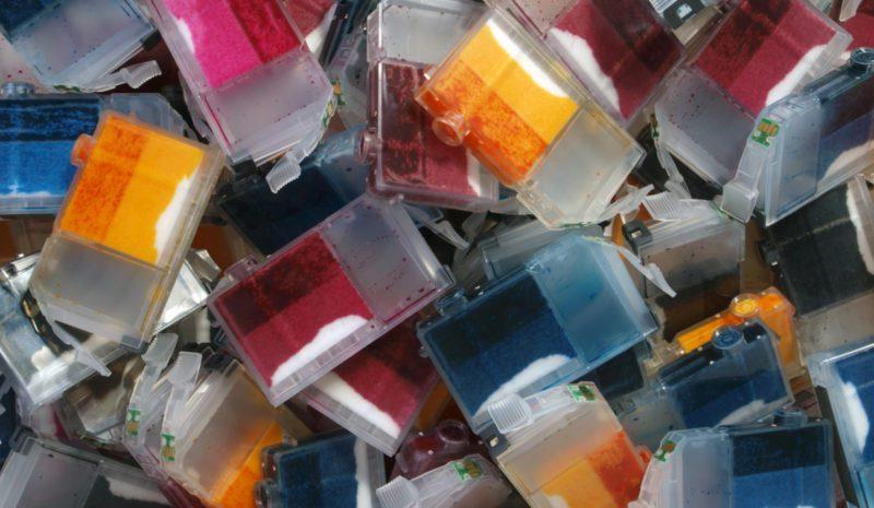 Reciclar cartuchos de impresión, la nueva cara de la economía circular