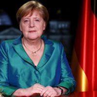 Angela Merkel saluda el año con un discurso al estilo Greta Thunberg