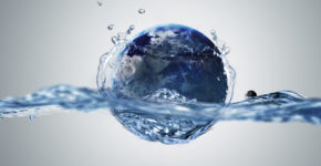 planeta, agua, mundo