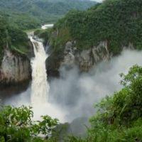 San Rafael: de cascada de 150 metros a arco