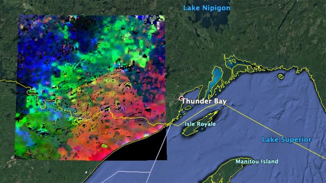 La NASA observa desde el espacio cómo se despiertan las plantas   Foto: Europa Press / NASA