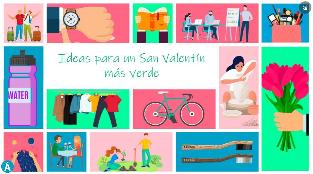 Ideas para un San Valentín más verde