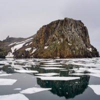 La fusión del hielo revela una isla desconocida en la Antártida