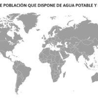 Agua potable y saneamiento en el mundo