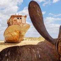 El mar de Aral ya no existe