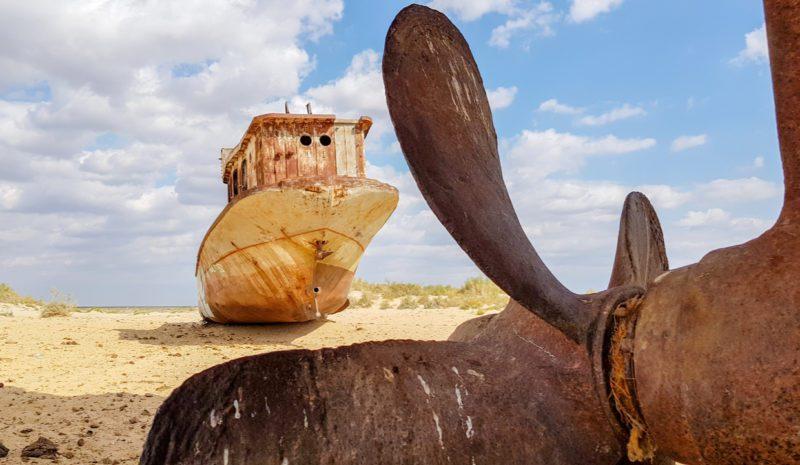 20.000 años después de su nacimiento muere el mar de Aral