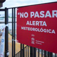 Las inundaciones a causa de una gota fría vuelven a asolar Murcia