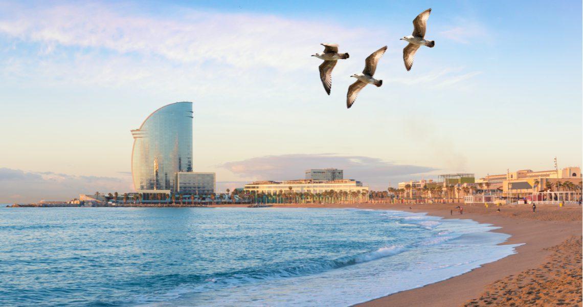 El descenso del tráfico por el coronavirus limpia el cielo de Europa