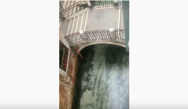 La cuarentena en Italia reduce la contaminación de las aguas de Venecia