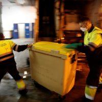 Retirar residuos y reciclar en tiempos de coronavirus