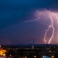 Brutales tormentas inundaron Extremadura este fin de semana