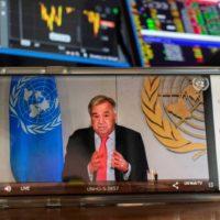 La ONU pide ayudar a los países pobres en la lucha contra el COVID-19