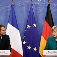 Merkel, paladín del ser o no ser europeo