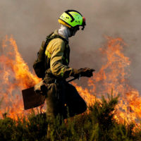 Bombero forestal: una profesión en la que te juegas la vida
