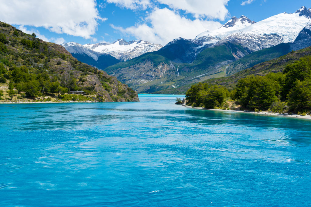 Lago General Carrera, en Chile. | Foto: Alberto Loyo