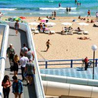 Aguas de Alicante impulsa una app pionera para controlar la ocupación de las playas