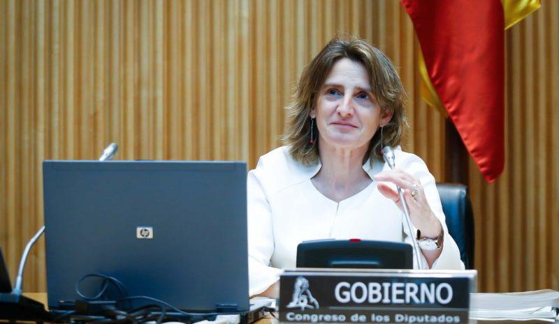 """La ministra Ribera aboga por establecer """"precios razonables"""" para el agua """"en su conjunto"""""""
