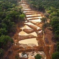 La minería de oro impide la recuperación de la Amazonía