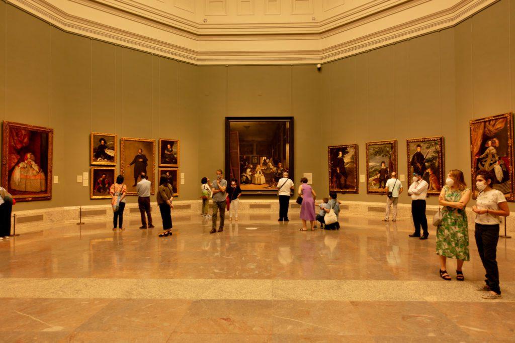 Sala 012 con Las meninas y otros 24 óleos de Velázquez. | Foto: Paloma Hiranda