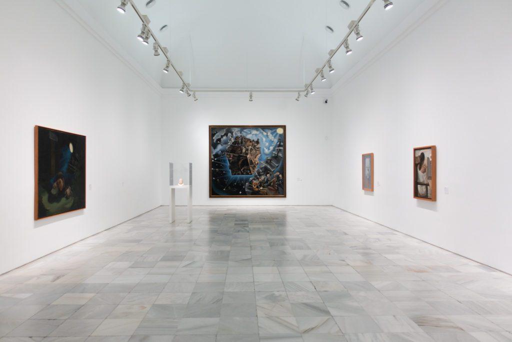 Vista de la sala La nueva figuración. Entre clasicismo y sobrerrealidad. | Foto: Paloma Hiranda