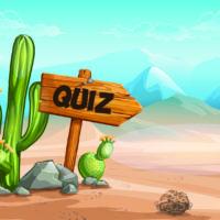¿Cuánto sabes sobre desiertos?