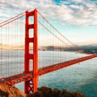 El puente del Golden Gate se ha convertido en una armónica de 12.000 toneladas