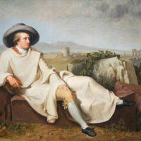 Goethe entre las flores