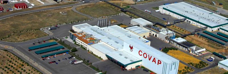 COVAP, potente cooperativa de carne y leche en Andalucía