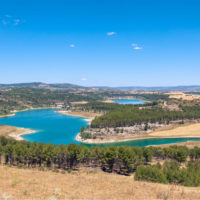 Los embalses bajan al 48,3% esperando el agua del otoño
