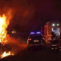 El primer gran incendio del verano arrasa 1.000 hectáreas en Ourense
