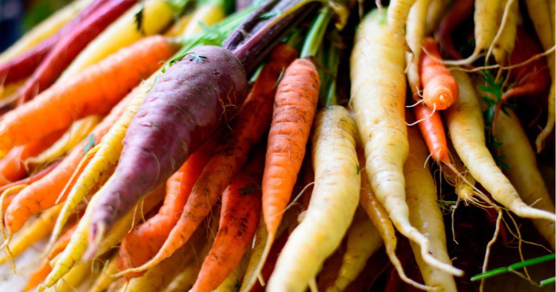 ¿Sabías qué las zanahorias no siempre fueron naranjas?