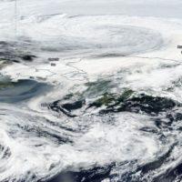 El humo de los grandes incendios de Siberia llega a Alaska