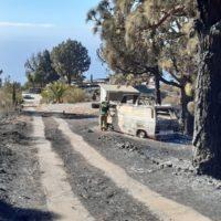 Estabilizados los incendios en La Palma y La Gomera
