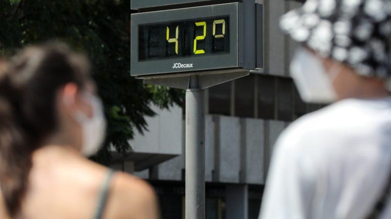 El mes pasado fue el tercer julio más cálido jamás registrado