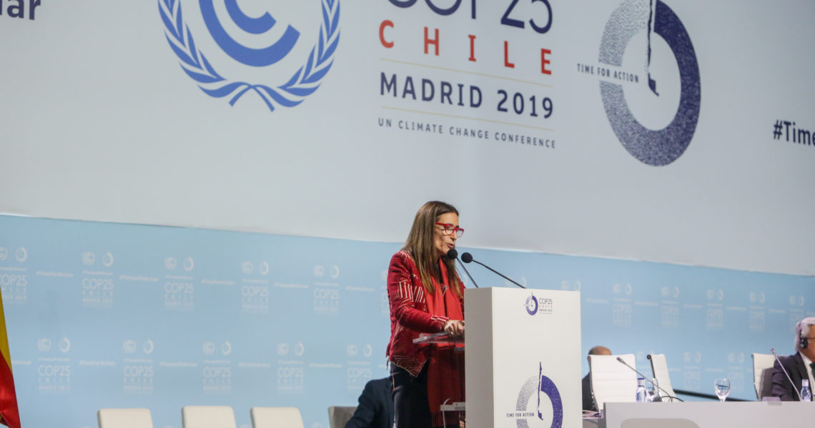 Chile y el clima, un año después de la COP25