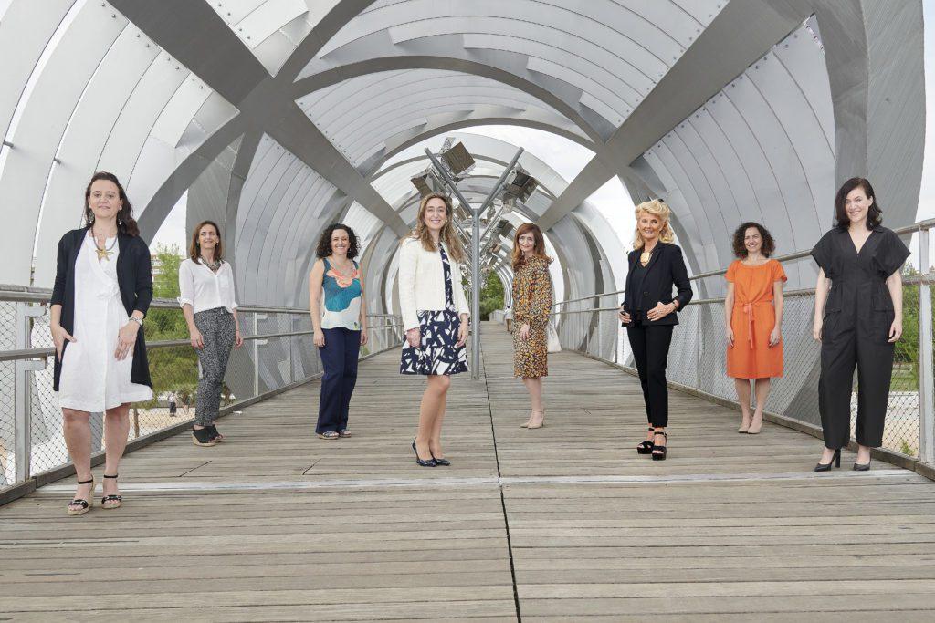 Las impulsoras de la plataforma Women Action Sustainability (WAS).   FOTO: Carlos Dafonte
