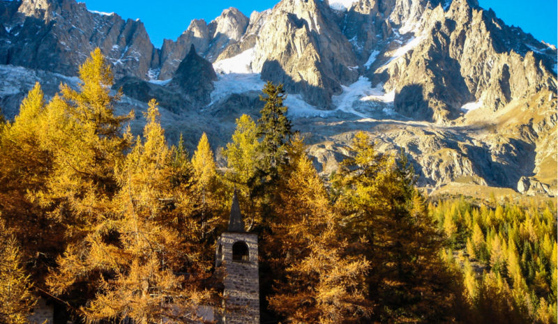 Evacúan la parte italiana del Mont Blanc por el riesgo de colapso del glaciar de Planpincieux