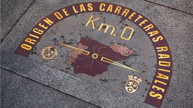 El Km 0 de todas las carreteras españolas ya no tiene coches
