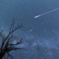 Las lluvias de estrellas tienen las noches contadas