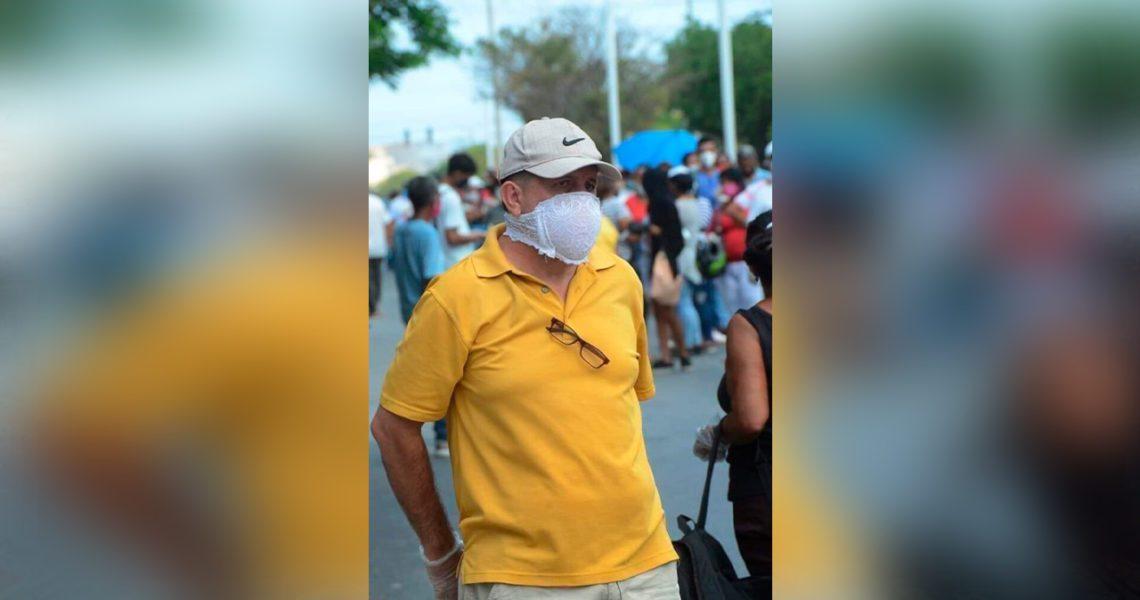 La mascarilla preferida de Julio Iglesias