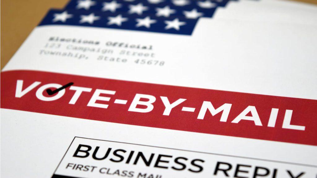 Resultado de imagen para votar por correo EEUU
