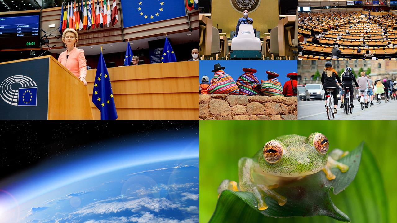 Von der Leyen propone reducir un 55% las emisiones de la UE para 2030