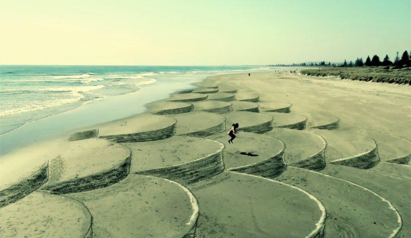 Arte que se lleva la marea