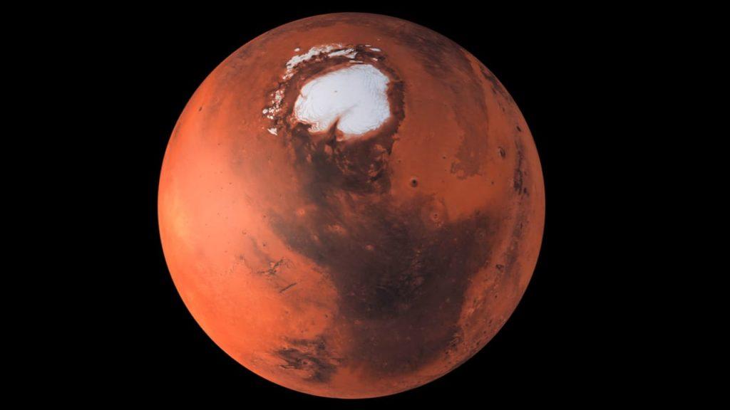 Agua líquida Marte