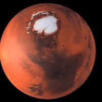 Marte esconde bajo su superficie cuatro lagos con agua líquida