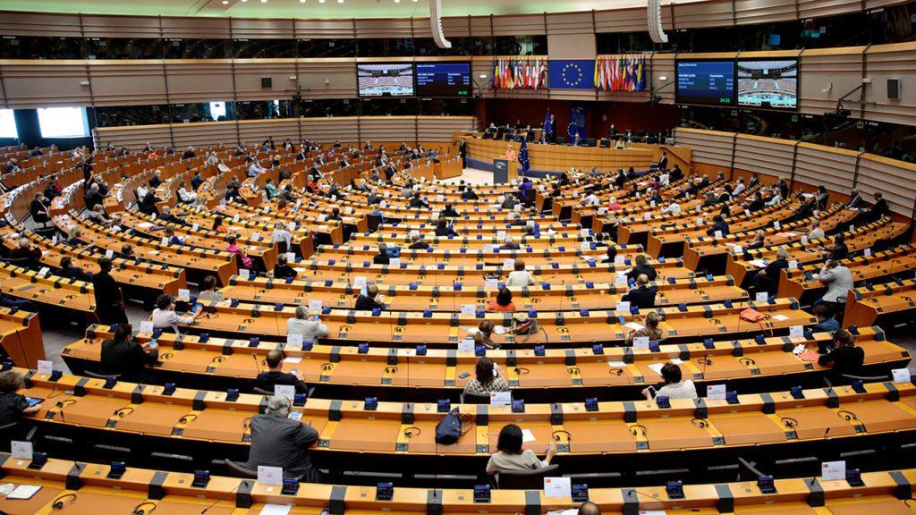 Sala plenaria del Parlamento Europeo | Foto: EFE